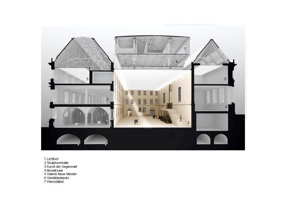 Architekten In Dresden wiedereröffnung des albertinums in dresden nach sechsjähriger umbau