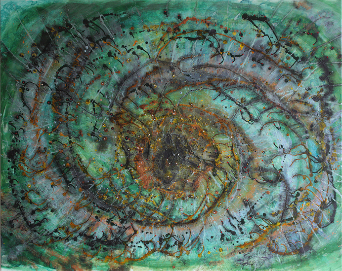 Angela Volland, Whirlpool Galaxy, 2009 © Angela Volland