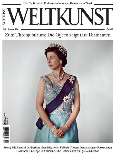 Weltkunst 09/2012 © Titelbild: Cecil Beaton/Victoria and Albert Museum, London/ V&A Images