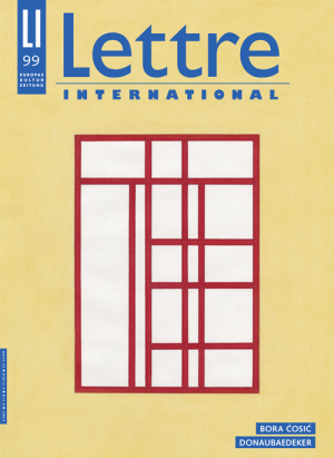 Lettre International 99 © Cover Lettre International