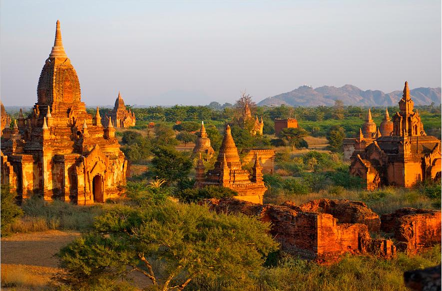 Pagoden in Burma