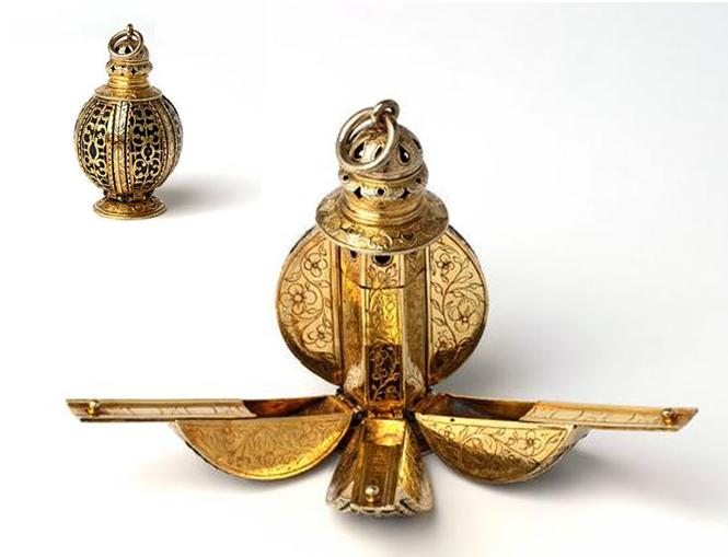 Bisamapfel aus England, um 1600 © Victoria and Albert Museum, London