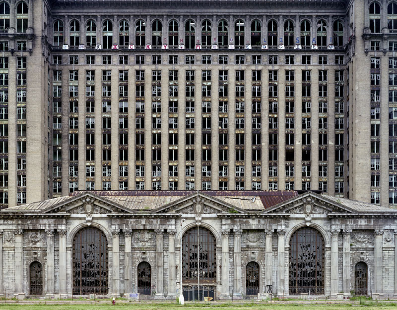 Marchand / Meffre: Ruins of detroit © Cover Steidl