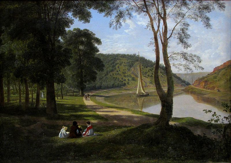 Francis Danby: View of the Avon Gorge, 1822 © Bristol City Museum