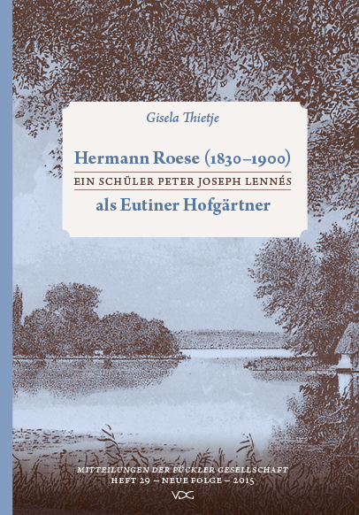 Hermann Roese 978-3-89739-830-6  © Cover VDG Weimar