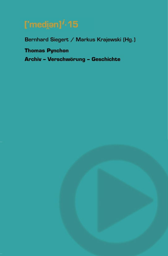 Thomas Pynchon © Cover VDG Weimar