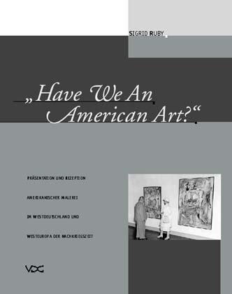 Have We An American Art? © Cover VDG Weimar