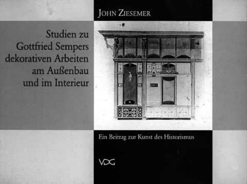 Studien zu Gottfried Sempers © Cover VDG Weimar