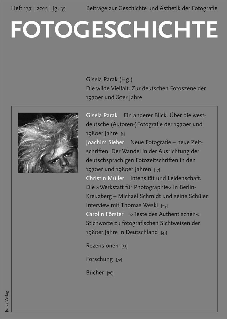 Fotogeschichte 137 © Cover Jonas