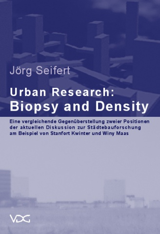 Urban Research: Biopsy and Density © Cover VDG Weimar