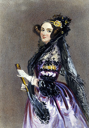 Alfred Edward Chalon, Ada Lovelace, 1815-1852 (1838) © Science Museum/Science, Society Picture Library