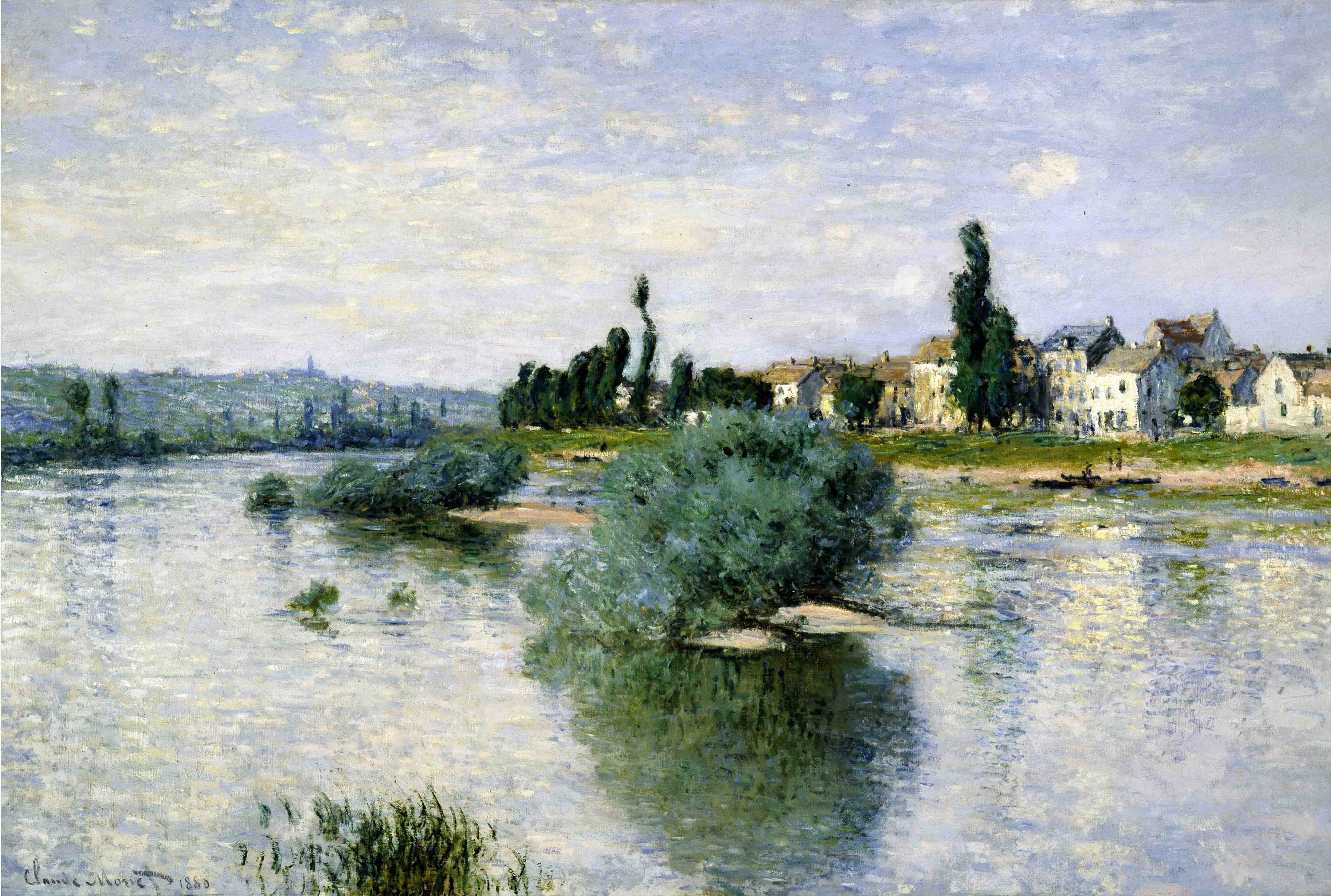 Claude Monet, La Seine à Lavacourt, 1880 © Foto: Scottish National Gallery