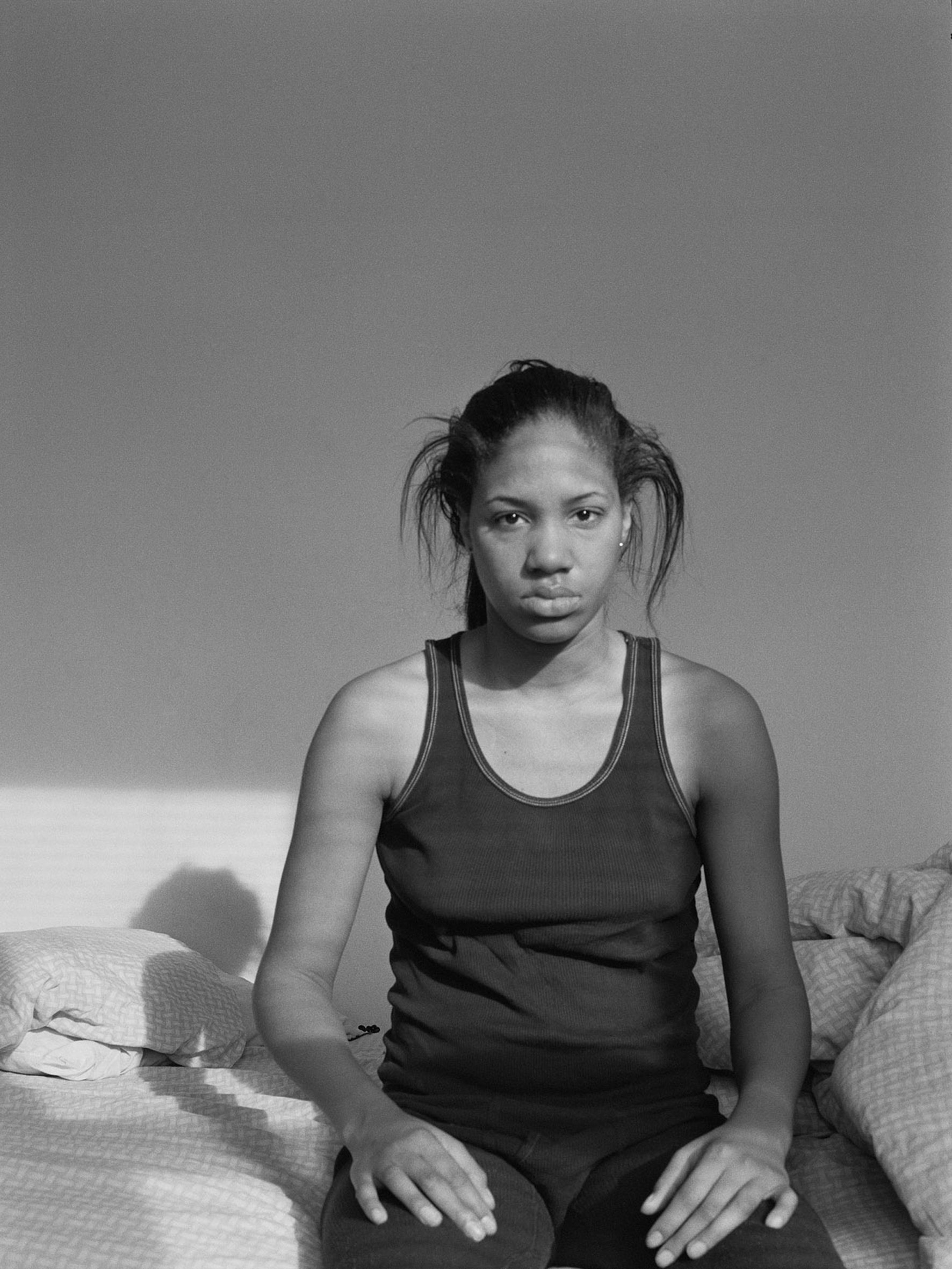LaToya Ruby Frazier: Self Portrait (Lupus Attack), Serie »Notion of Family«, 2005 © LaToya Ruby Frazier und Michel Rein, Paris undBrüssel