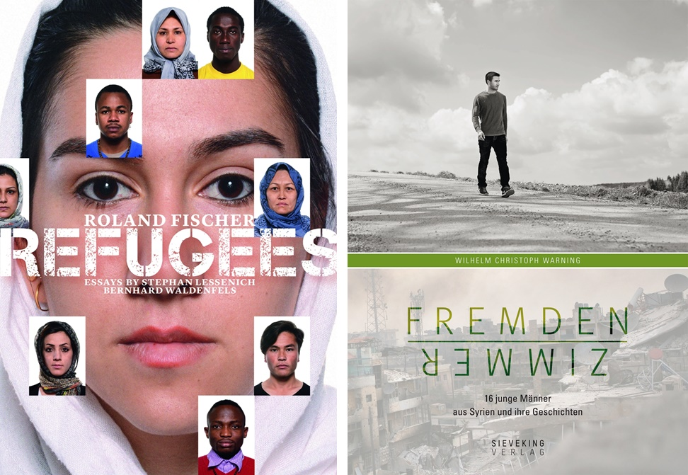 Refugees © Cover Hirmer | Fremdenzimmer © Cover Sieveking
