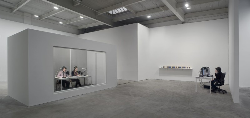 Installationsansicht, On Kawara: One Million Years, David Zwirner, New York, 2009 © David Zwirner, New York/London. Foto: Cathy Carver