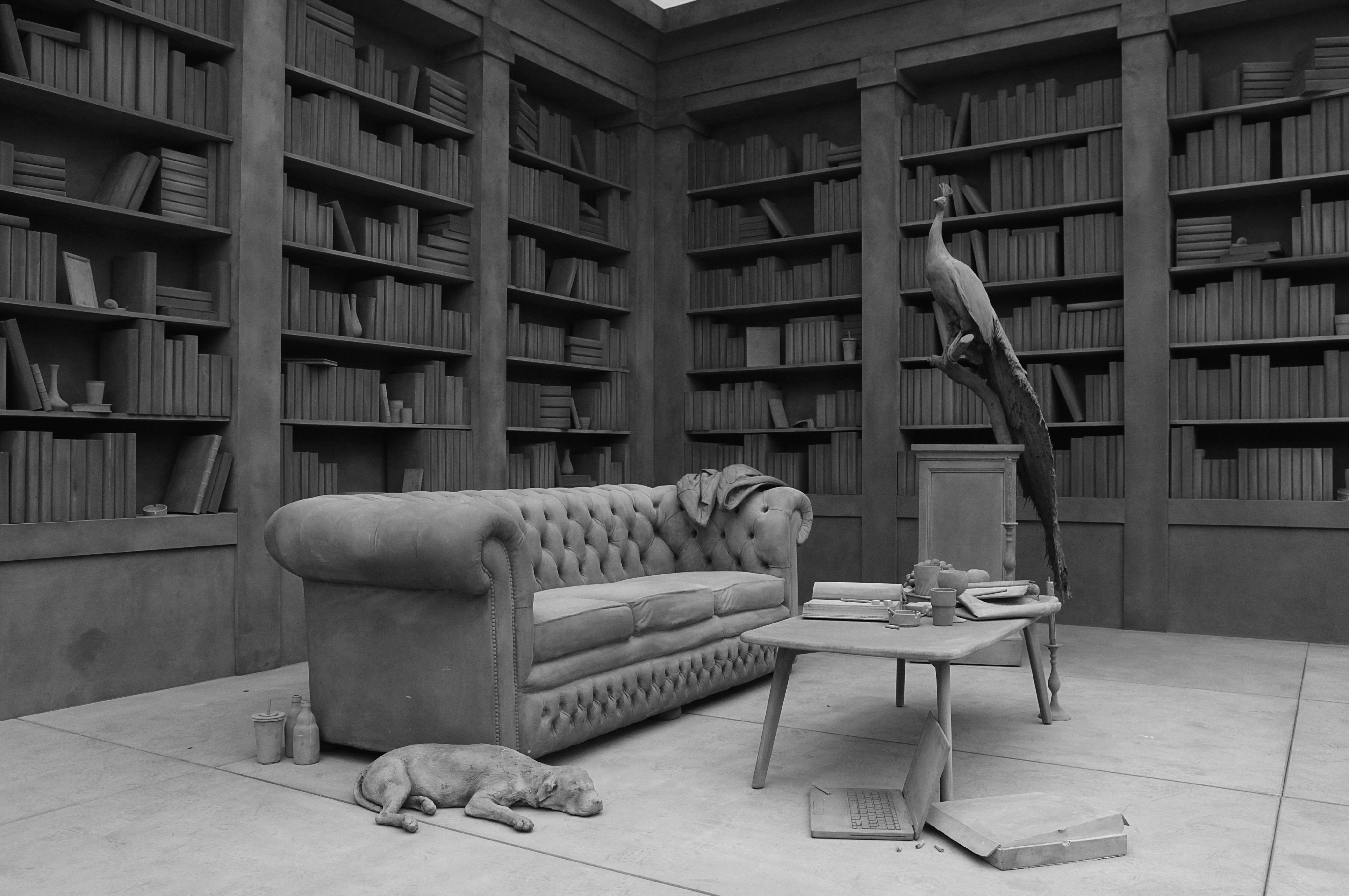 Hans Op de Beeck: The Collector's House, 2016 © Hans Op the Beeck