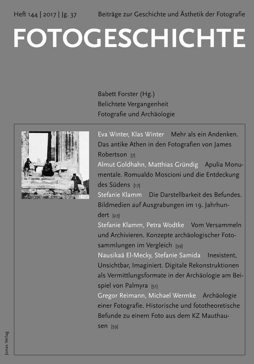 Fotogeschichte 144 © Cover Jonas