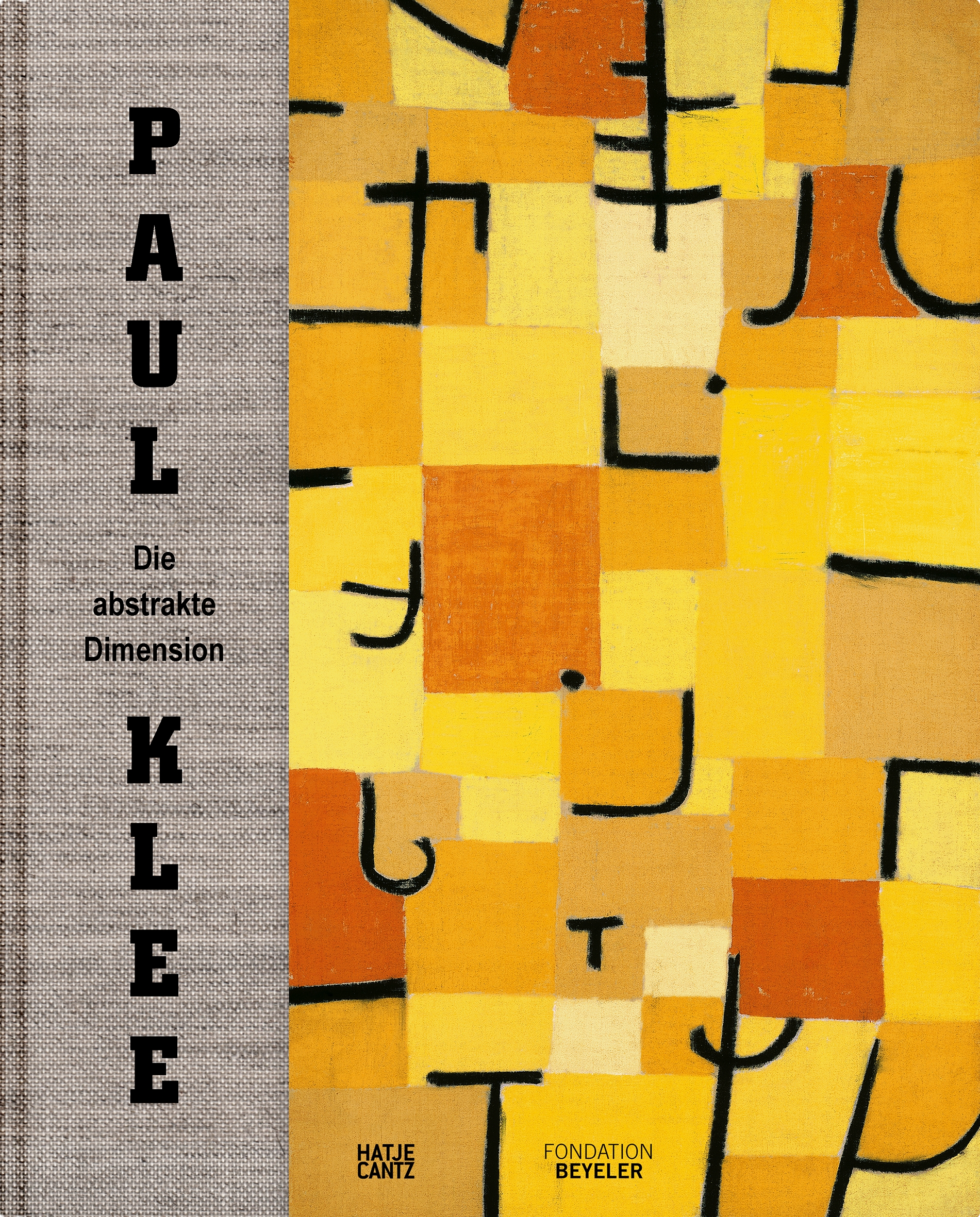 Paul Klee. Die abstrakte Dimension © Cover Hatje Cantz