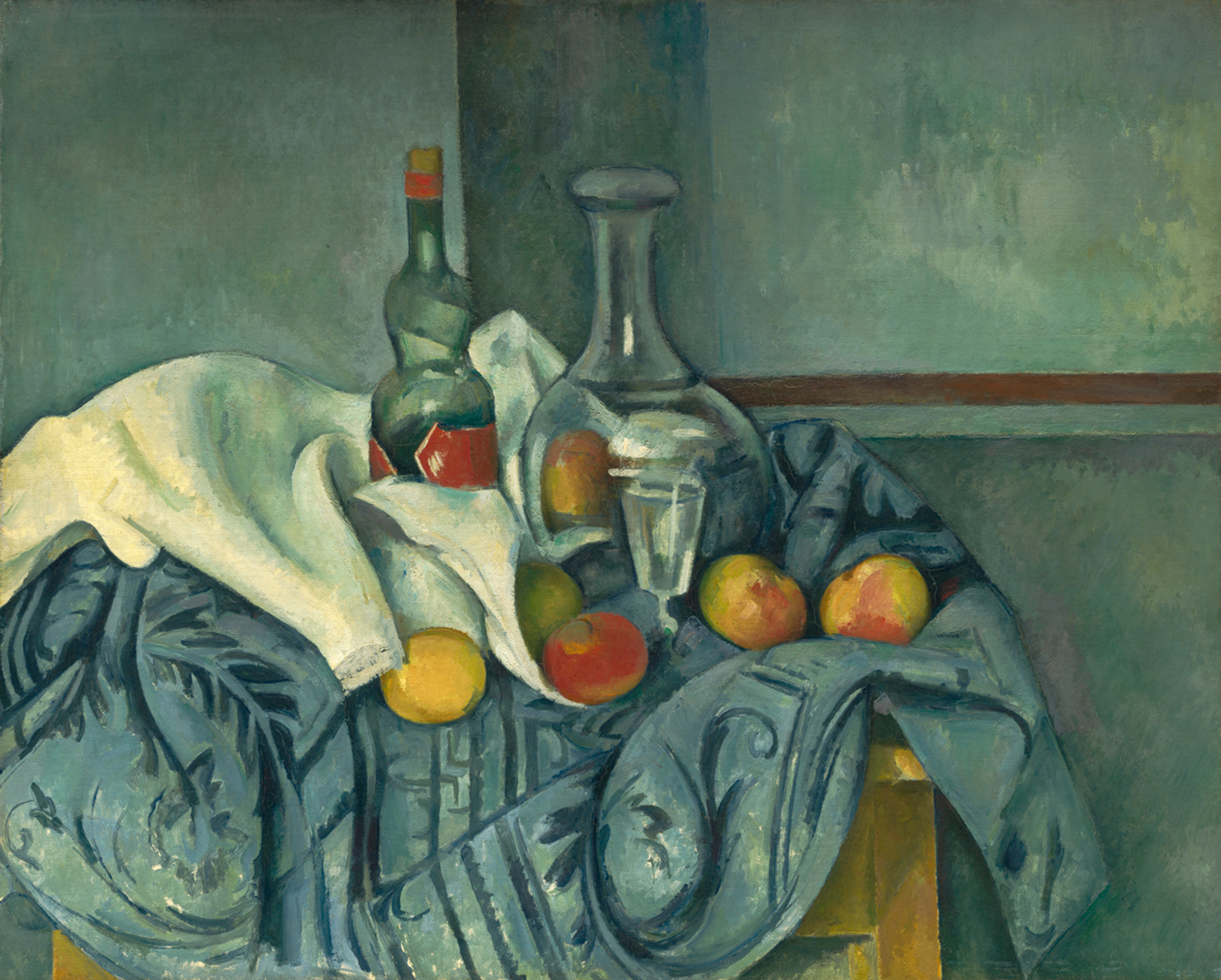 Paul Cézanne: Le Carafe, 1893-95 (Tafel 43) © National Gallery of Art, Washington D.C. / Chester Dale Collection 1963.10.104 / courtesy Schirmer/Mosel