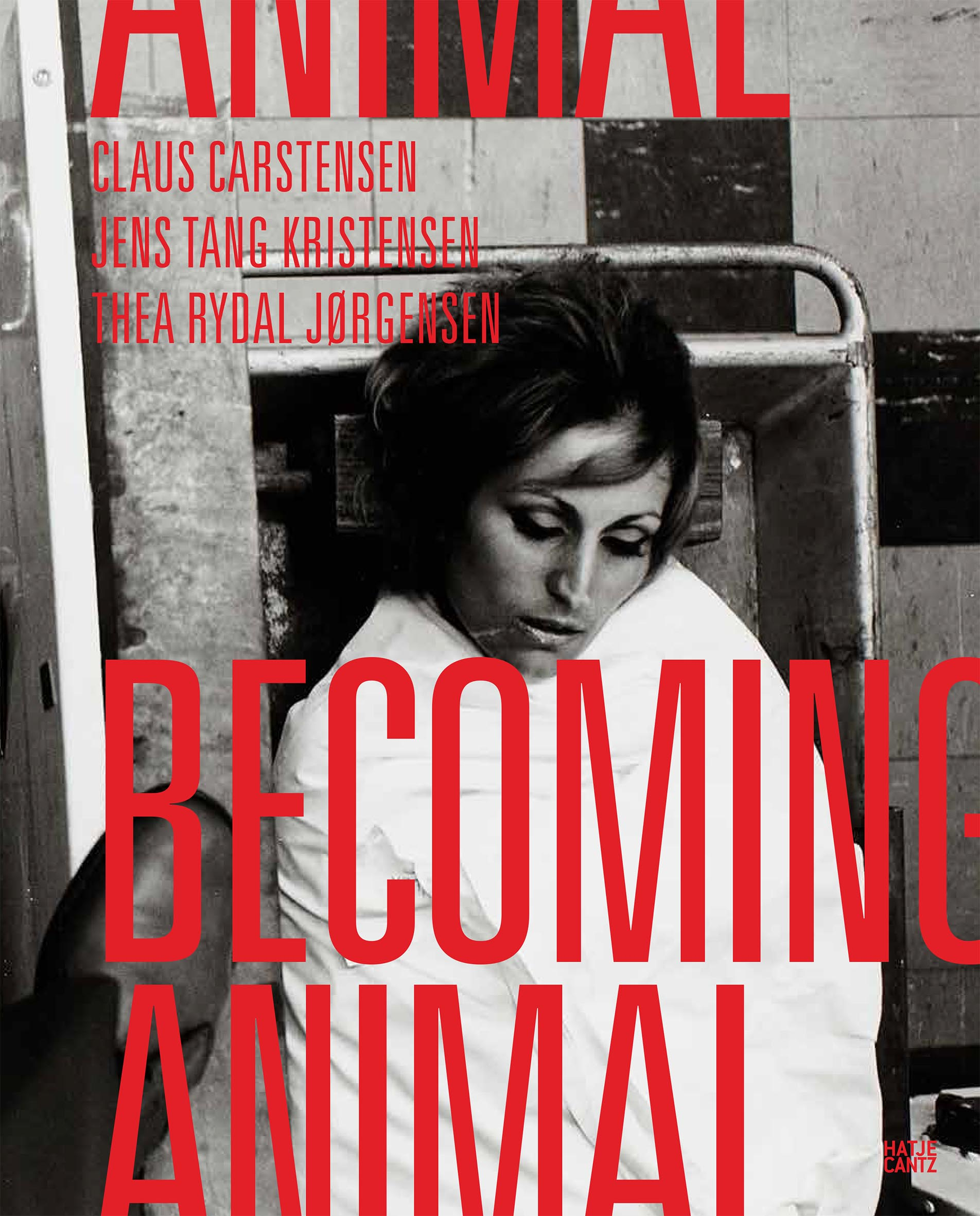Becoming Animal © Cover Hatje Cantz