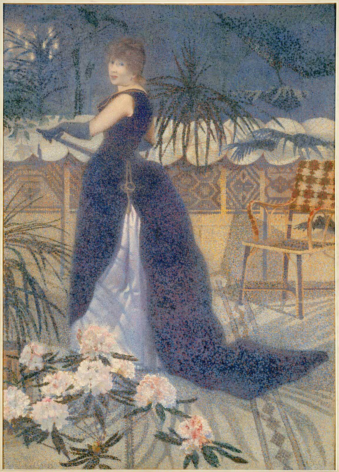 Henri-Edmond Cross: Madame Hector France, 1891 © Foto Hervé Lewandowski