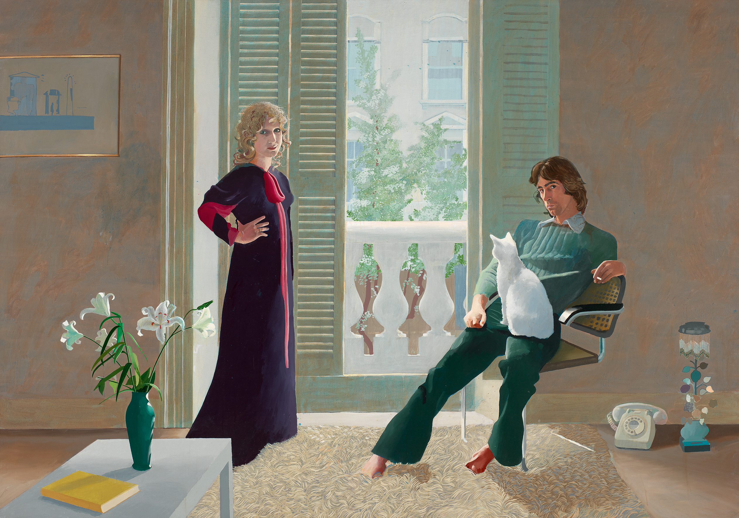 David Hockney: Mr and Mrs Clark and Percy, 1970/71, © David Hockney, Foto: Tate