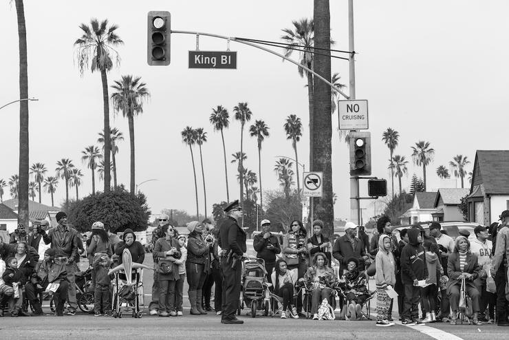 George Georgiou, MARTIN LUTHER KING DAY PARADE, LOS ANGELES, CALIFORNIA, 18/01/2016, aus der Serie Americans Parade, 2016