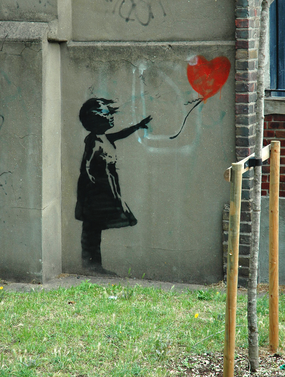 Balloon Girl - London © Wikipedia